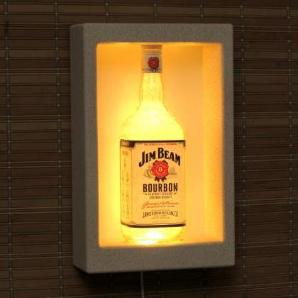 Jim Beam Whiskey Sconce Wall Mount ..