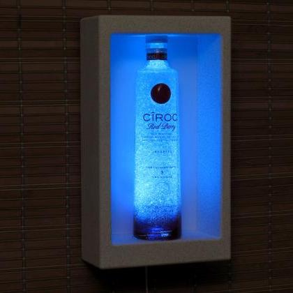 Ciroc Red Berry Vodka Shadowbox Wal..