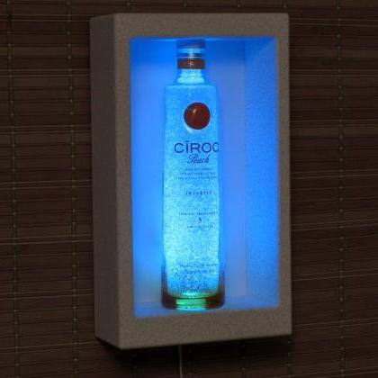 Ciroc Peach Vodka Shadowbox Wall Mo..