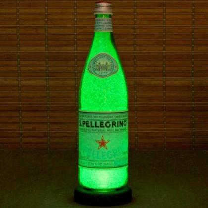 San Pellegrino 750ml Bottle Lamp Ba..
