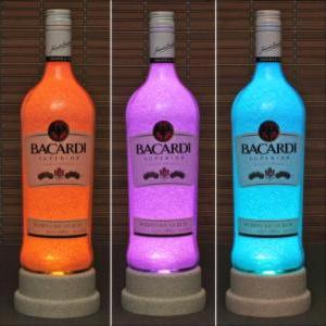 Bacardi Rum Color Changing Bottle L..