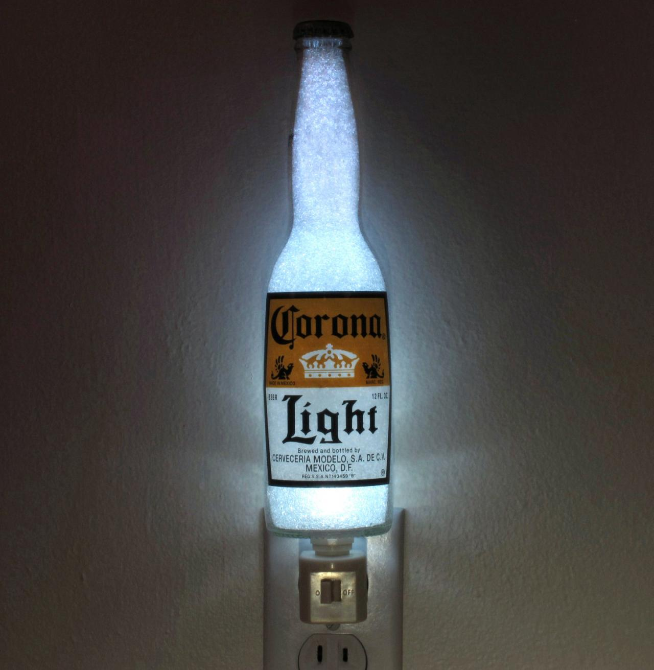 Corona Light Beer 12oz Night Light Accent Lamp Eco Led