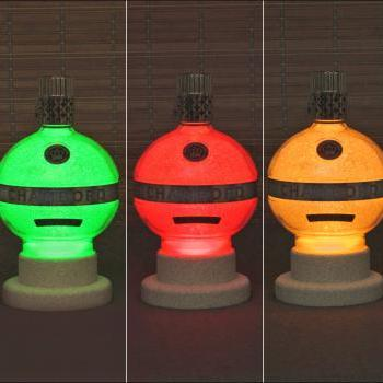 Chambord Raspberry French Liqueur Color Changing Bottle Lamp LED Remote Control Bar Light